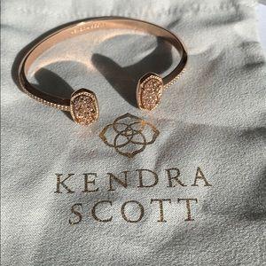 Kendra Scott Rose Gold Druzy Elton Bracelet✨